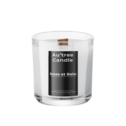 Roses et Baies - Classic Candle